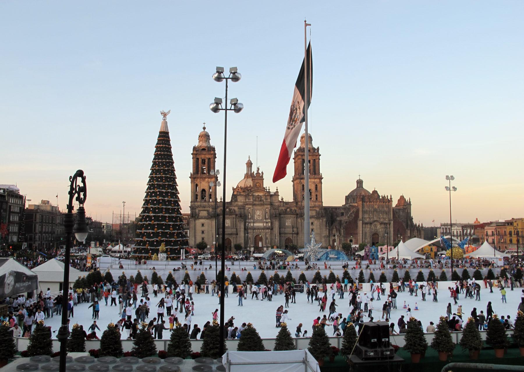 Actividades navideñas en la Ciudad de México