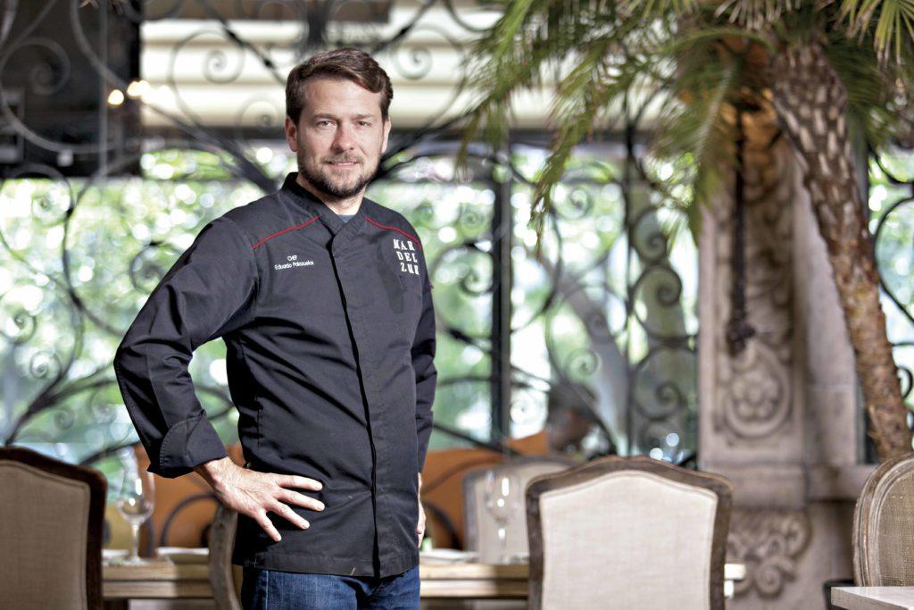 Viaje entre sabores con el chef Eduardo Palazuelos
