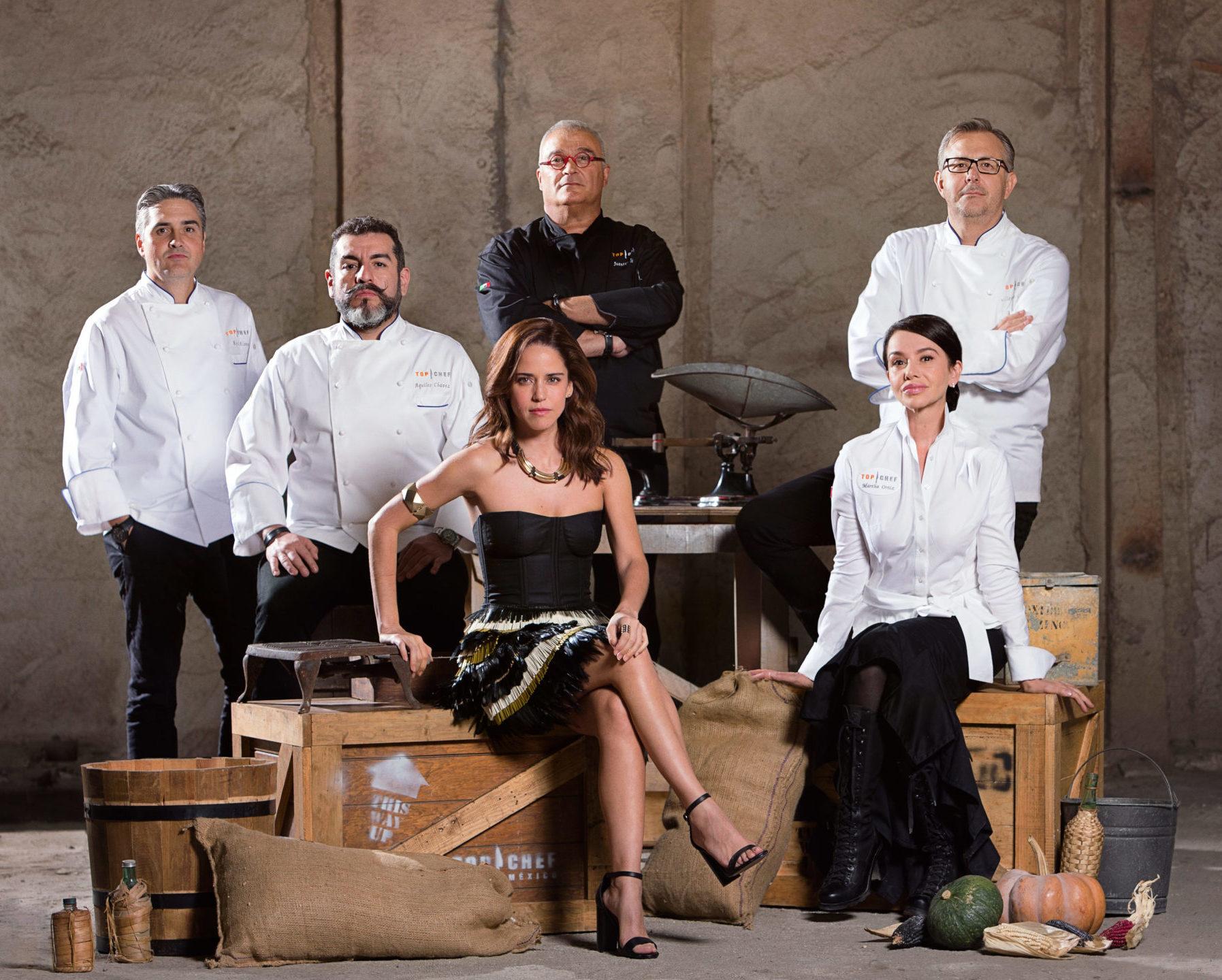 Así son los jueces de Top Chef MÉXICO