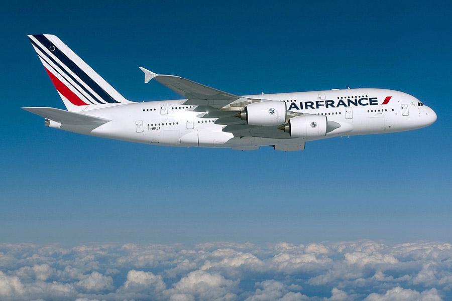 Air France celebra el primer aniversario del A380