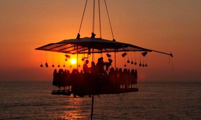 Dinner in the Sky llega al cielo de Puerto Vallarta