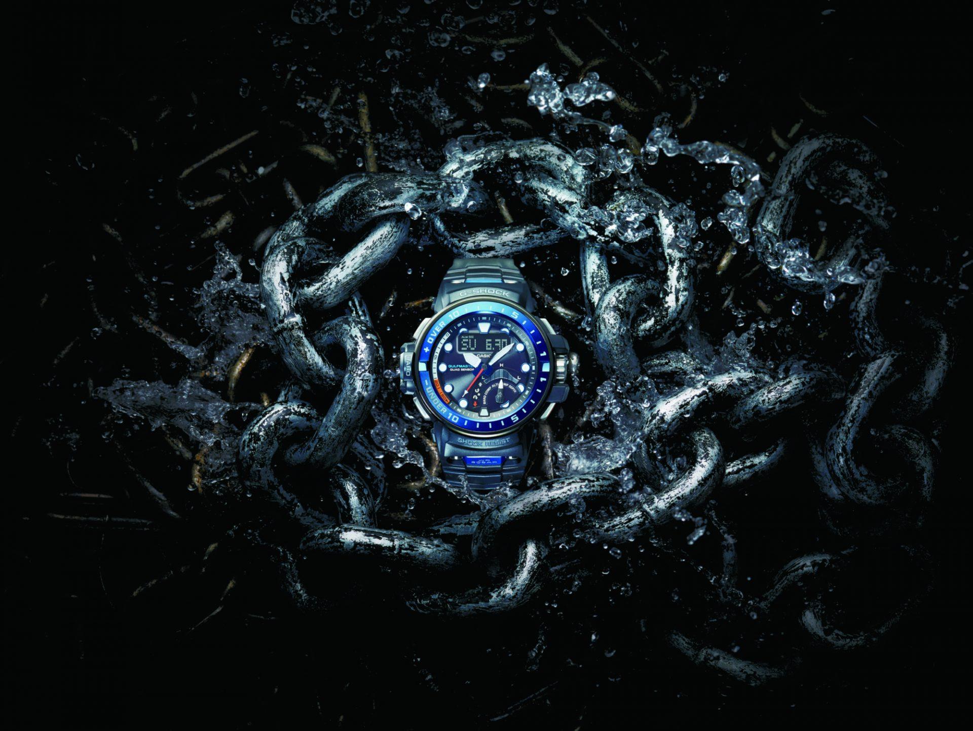 Reloj contra tiburones