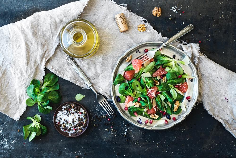 Recetas de ensaladas orgánicas