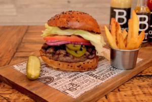 B Town, boutique de hamburguesas
