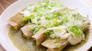Enchiladas típicas mexicanas