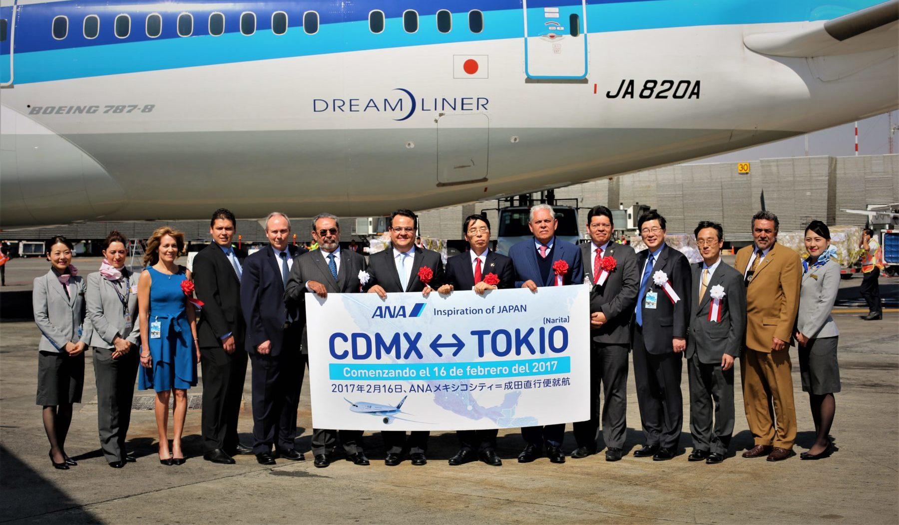 Japón y México unidos por ANA