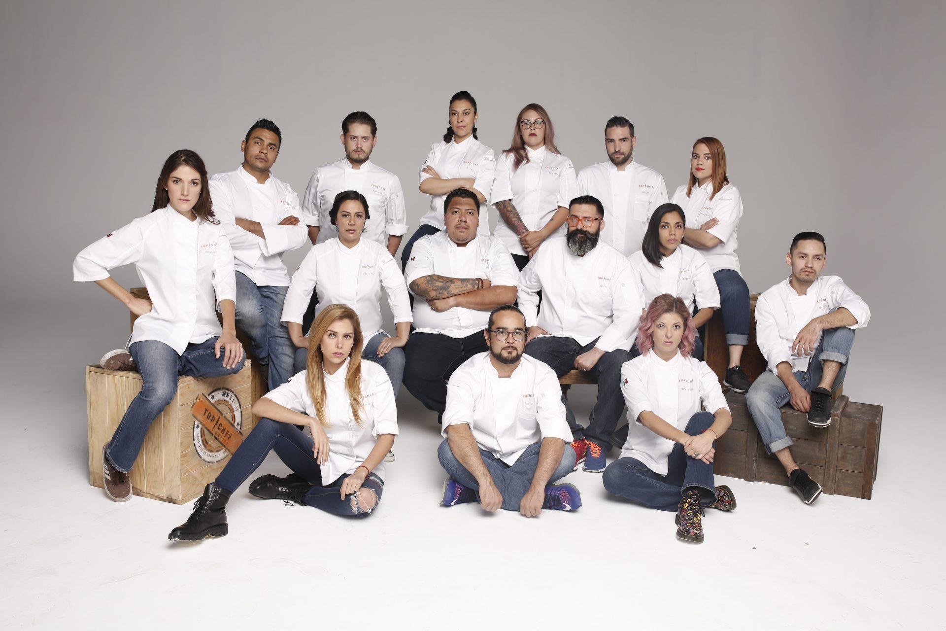 Aquí los 15 participantes de TOP CHEF MÉXICO 2017