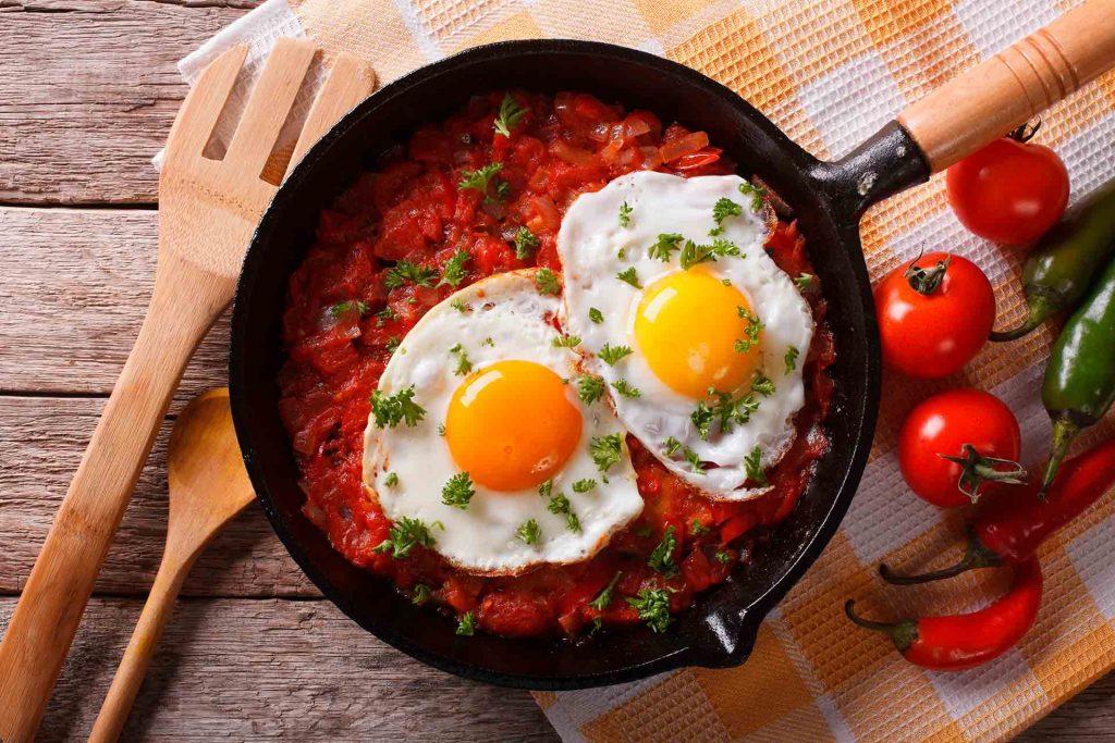 Huevos muy mexicanos