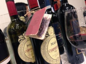 Cata en Ferrari del 4to Festival del vino italiano de La Europea