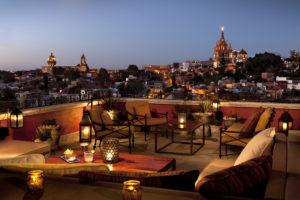 Los sabores de Rosewood San Miguel de Allende