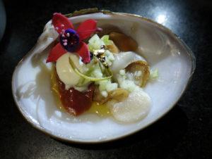 Veladas con ostras y champaña en Litoral