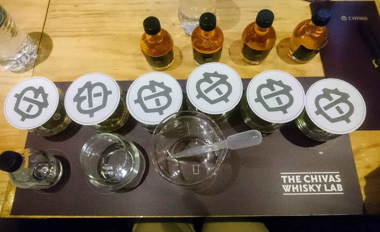 Aprendiendo sobre whisky con Chivas Regal