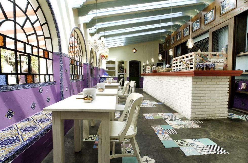 Restaurantes al Sur de la Ciudad de México