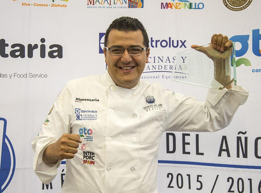 El nuevo Cocinero del Año México 2017