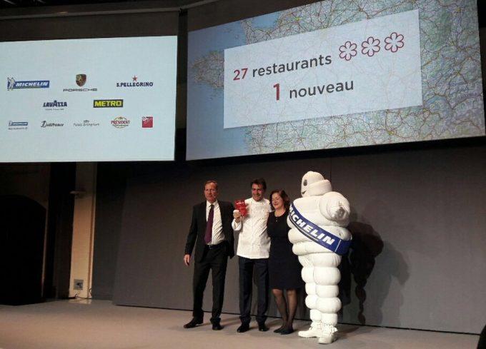 La Guía Michelin Francia 2017