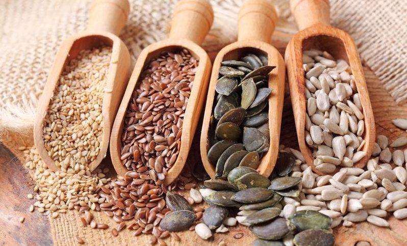 Semillas benéficas para el organismo