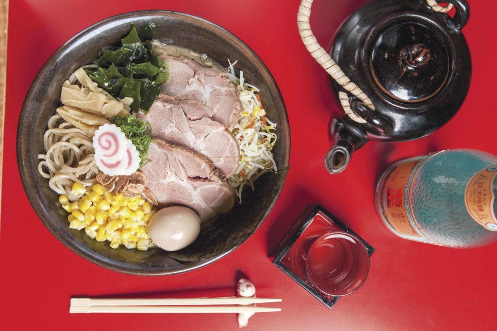 Japón a sorbos en Yamasan Ramen House