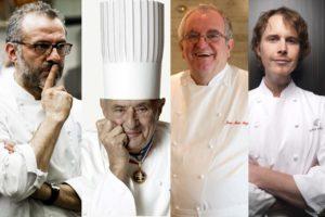 Chefs famosos en el mundo