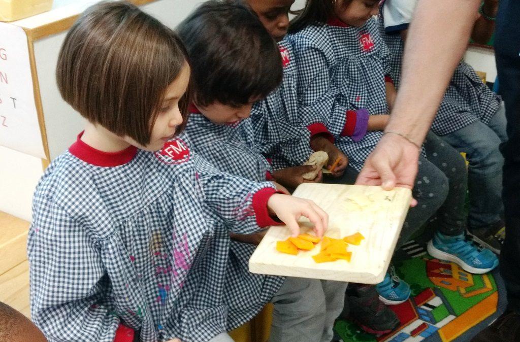 Sabor y Carácter abre la Escuelita del queso para niños