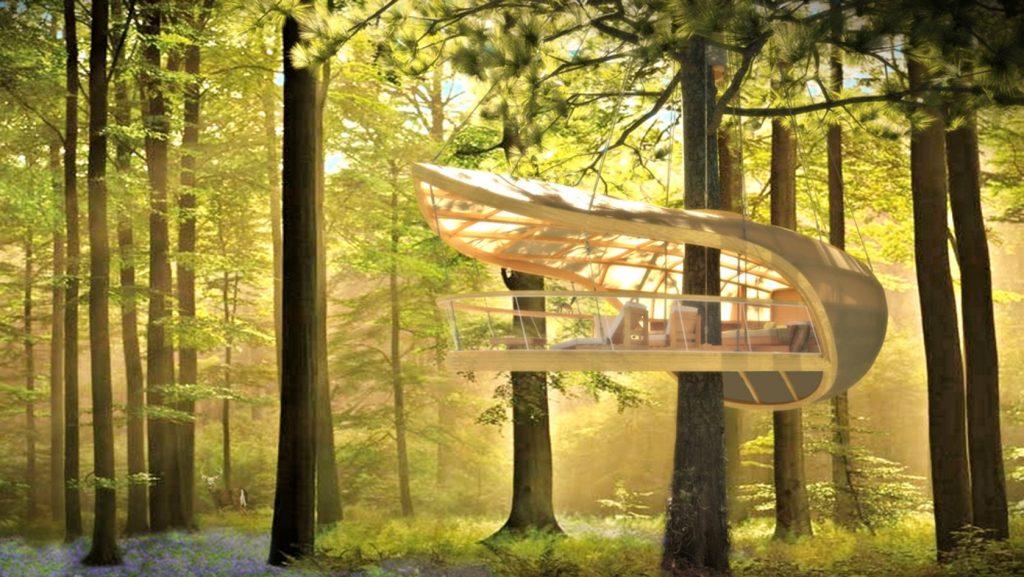 Construcciones en armonía con la naturaleza