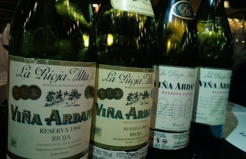 75 años de Viña Ardanza y sus vinos