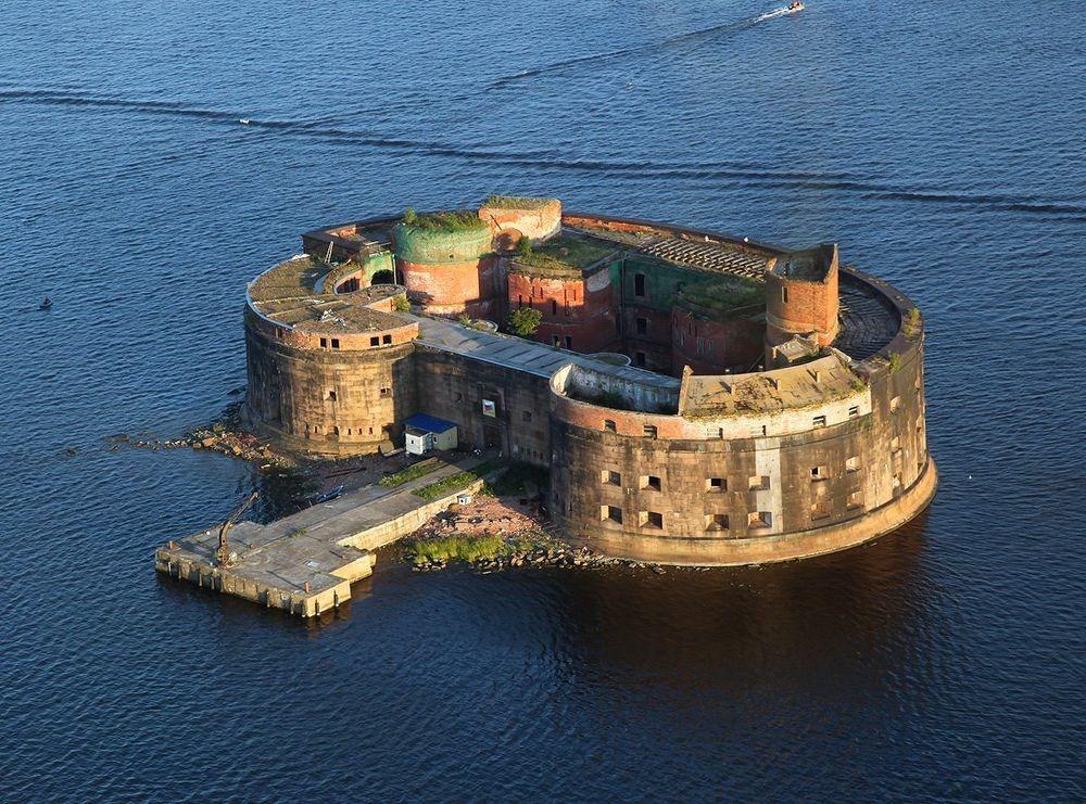 Las fortalezas marinas más sorprendentes del mundo