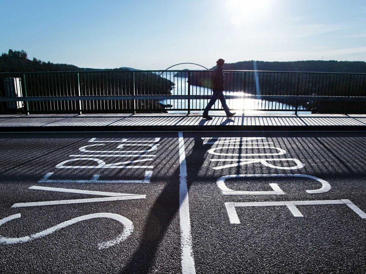 Fronteras asombrosas en el mundo