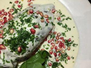 Los chiles en nogada de Angelopolitano