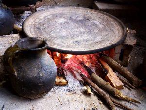 Utensilios auténticos de la cocina mexicana