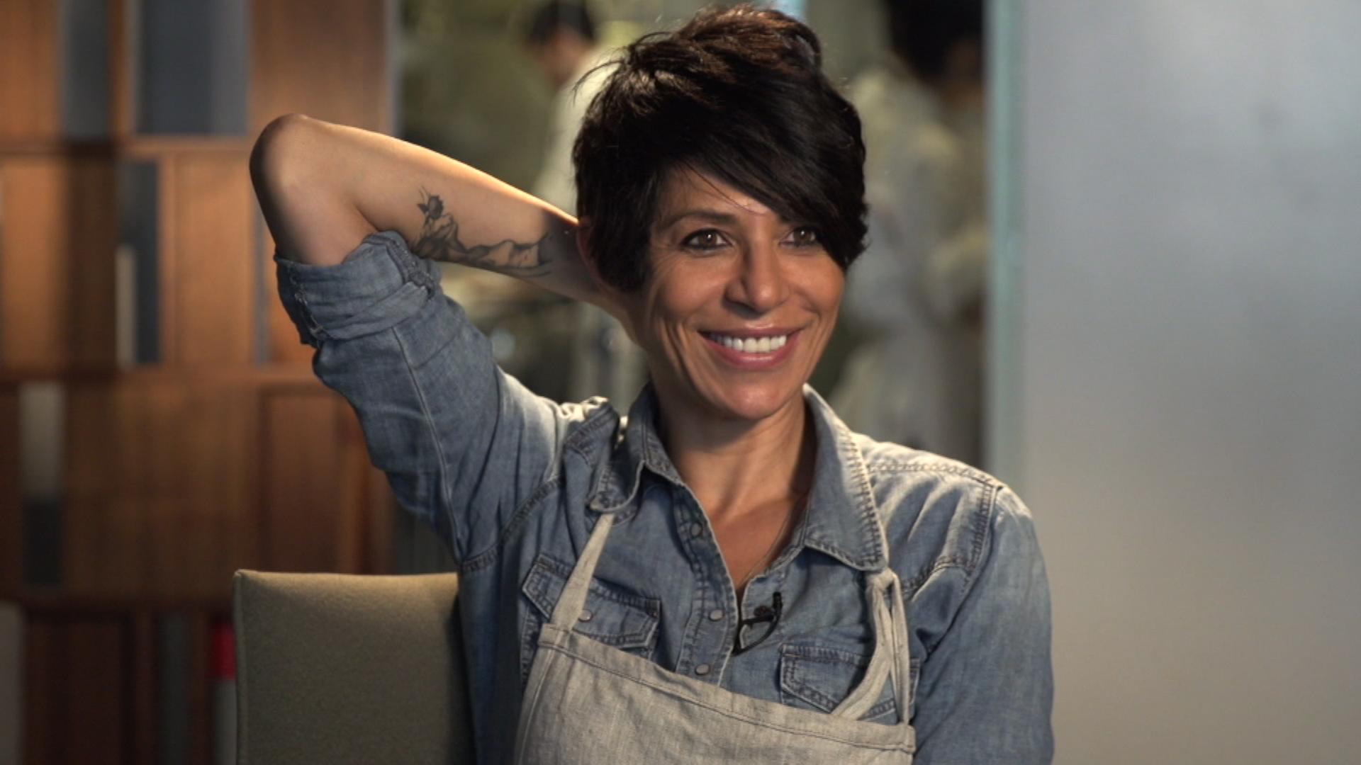 Dominique Crenn, poeta de sabores y embajadora del cambio