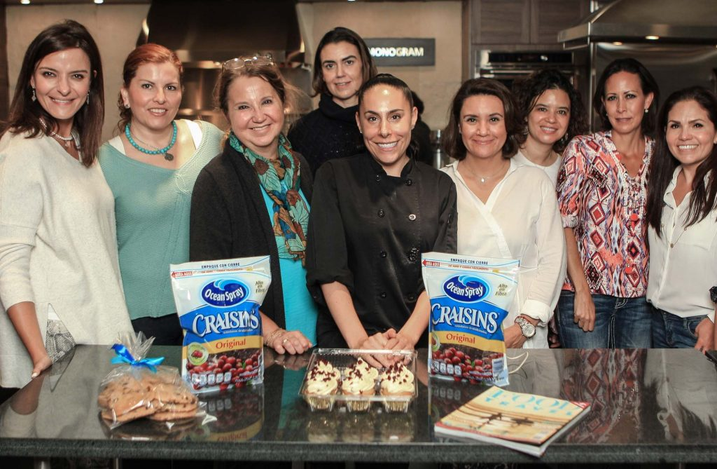 Taller de cocina con Ocean Spray y Food and Travel