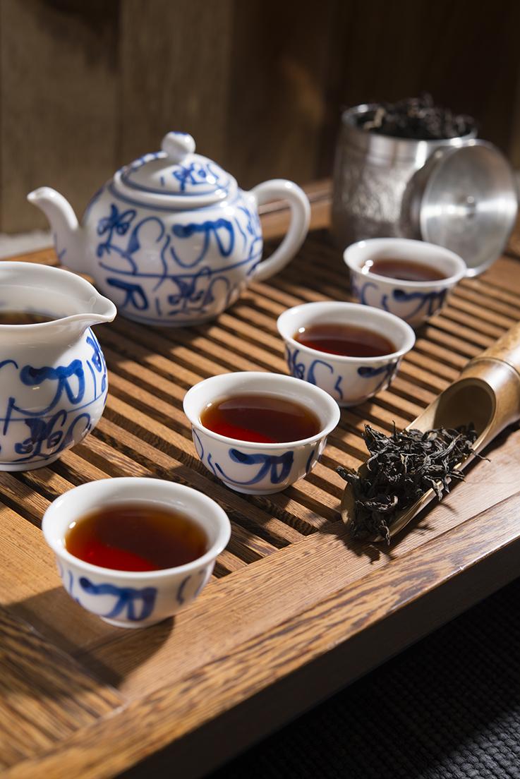 rituales del té