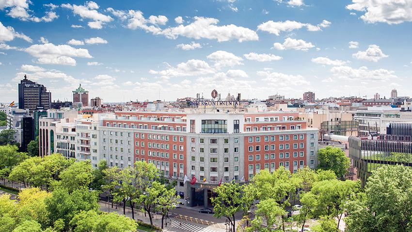 Intercontinental Madrid, aristocracia hispana