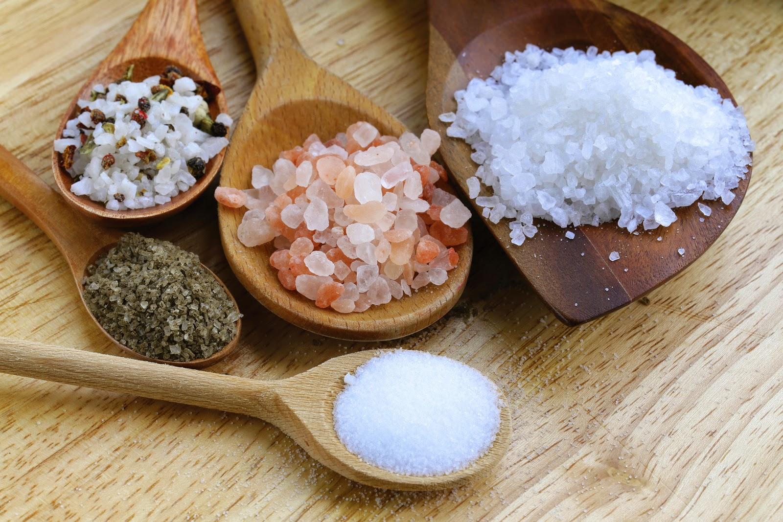 Tipos de sal, más allá de la yodada