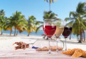 Cinco vinos para disfrutar en la playa