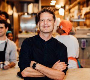David Hertz, fundador de Gastromotiva y emprendedor social