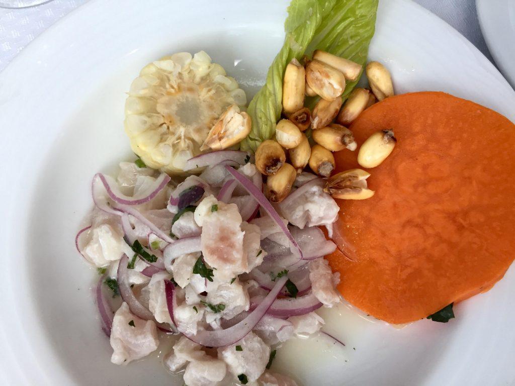 Primer Festival de Gastronomía Peruana en el restaurante Bellini