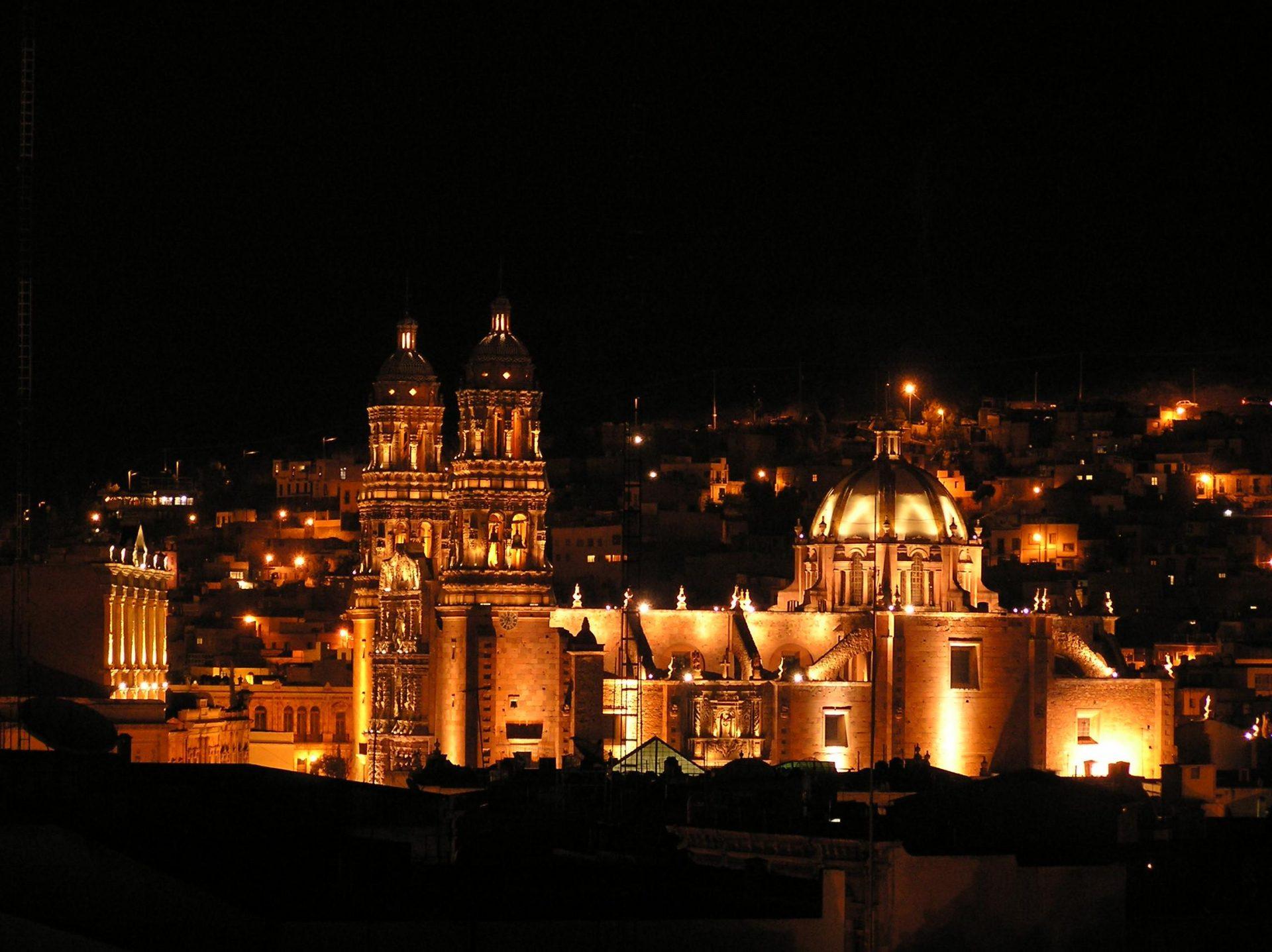 Vive siete noches en Zacatecas