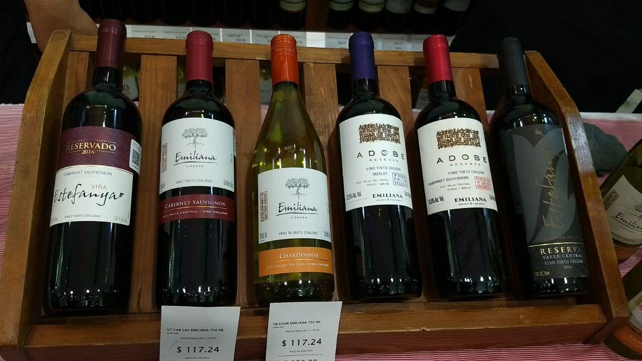 Cuarto Festival del Vino Chileno en La Europea