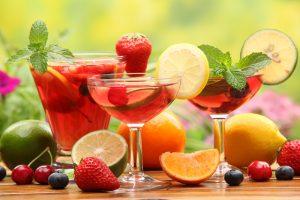 Bebidas sin alcohol para refrescarte todo el año