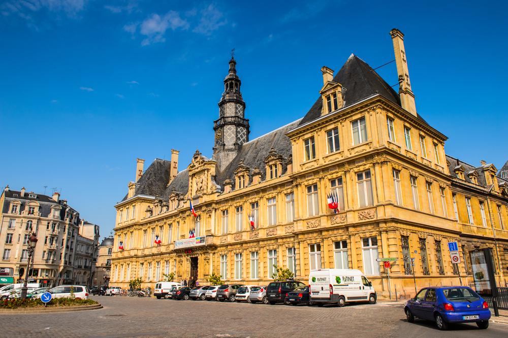 6 paradas en Reims