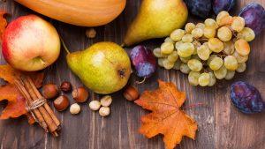 Frutas de otoño