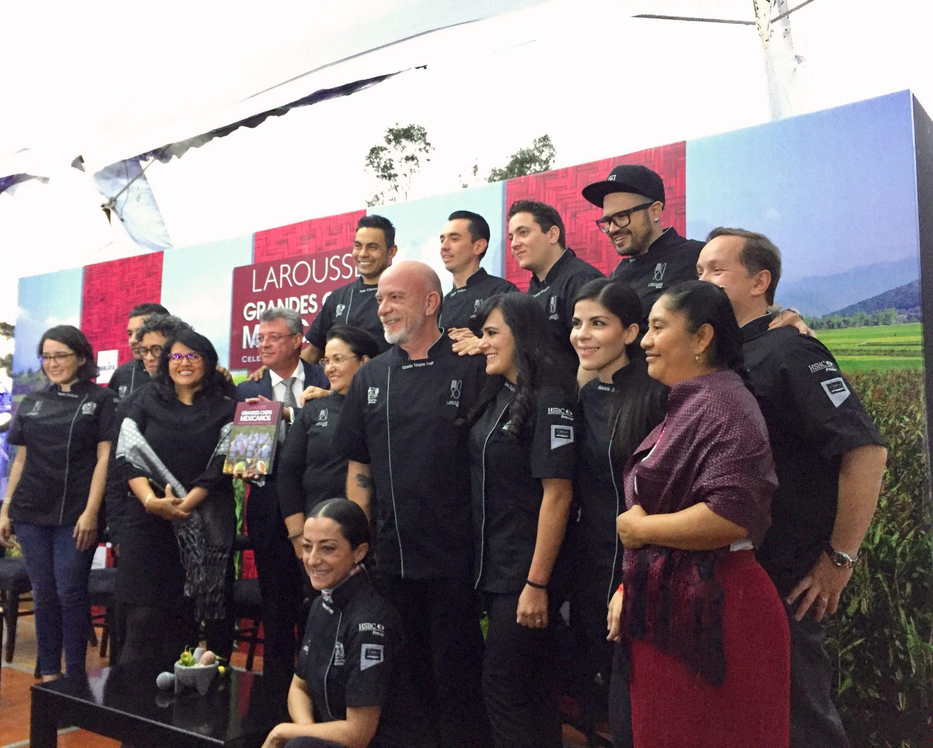 Larousse presenta Grandes Chefs Mexicanos