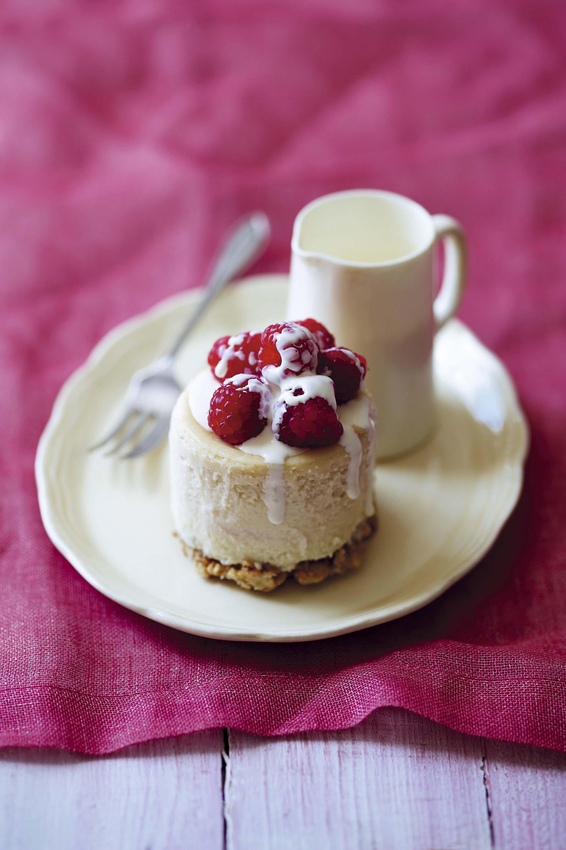 Cheesecake de cranachan