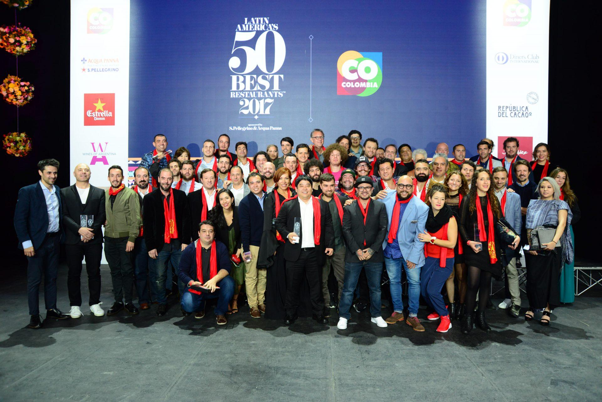 Lista completa de los Latin America's 50 Best Restaurants 2017