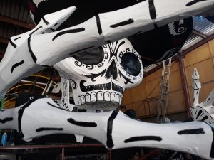 Carnaval de Calaveras, ¡ya casi está todo listo!