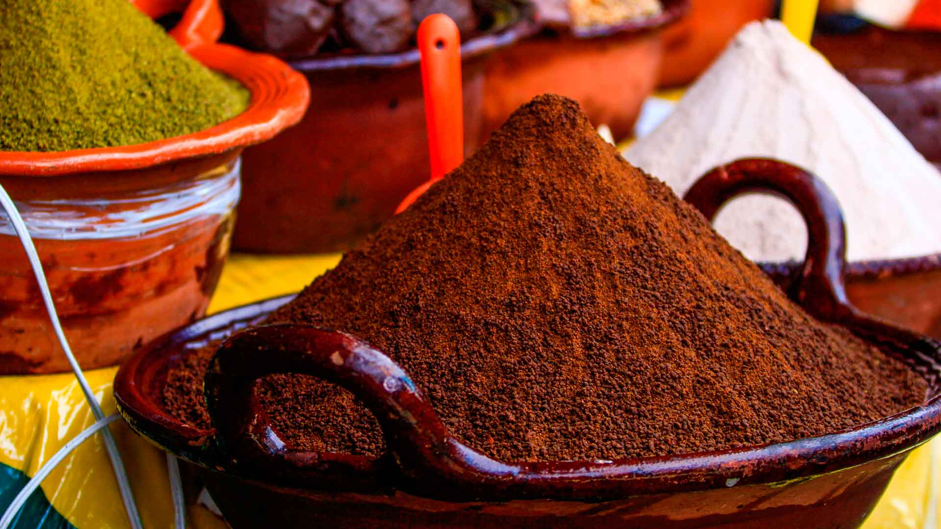 6 moles tradicionales de Tlaxcala