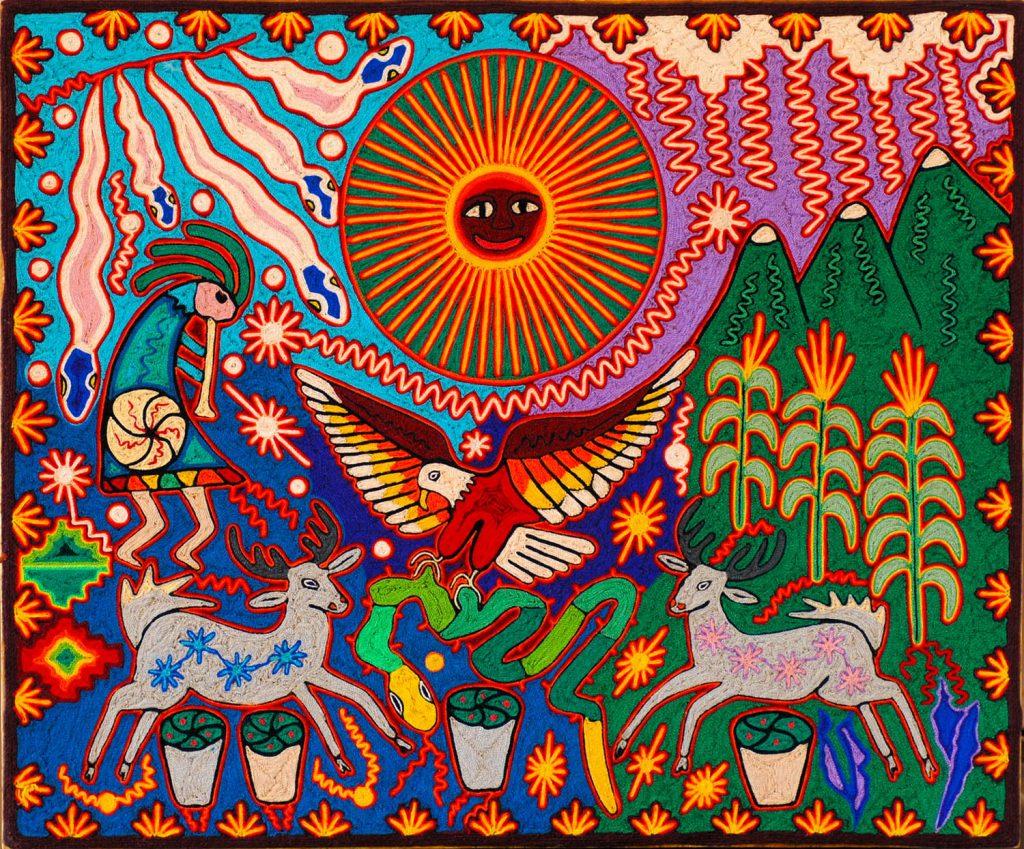 Bordados indígenas de México