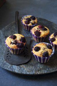 Muffins de zarzamora
