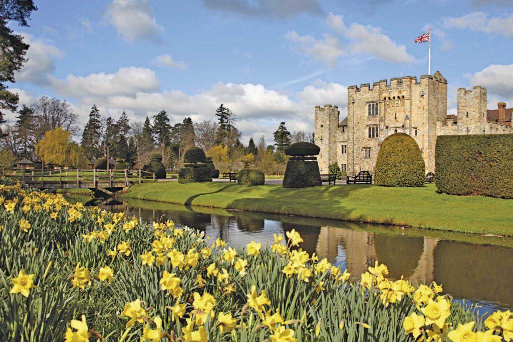 Castillos de Gran Bretaña: disfrute de rey
